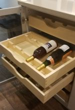 Pullout Wine Saddles