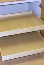 Natural Maple Melamine Pullout Box